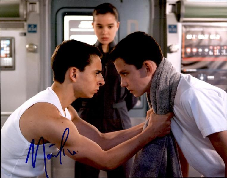 Mateo Arias Signed Authentic 8x10free Shipthe Autograph Bank