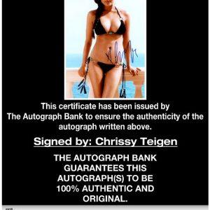 Chrissy Teigen proof of signing certificate