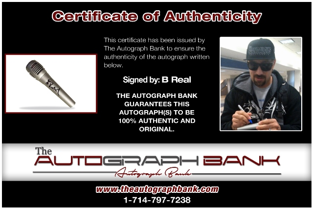B-Real proof of signing certificate