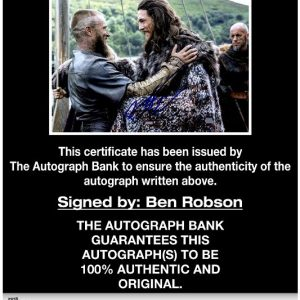 Ben Robson proof of signing certificate