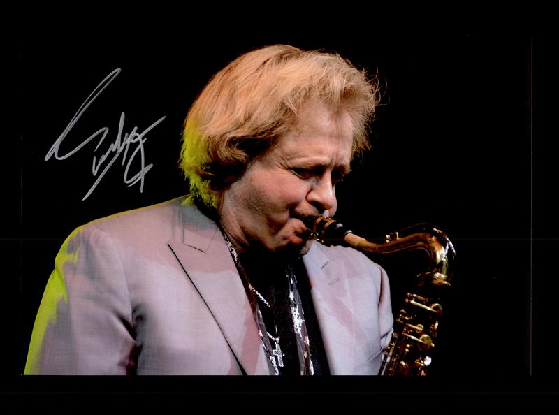 Eddie Money autographed photo