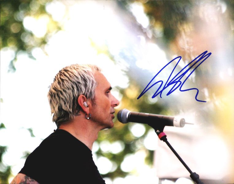 Art Alexakis authentic signed 8x10 picture
