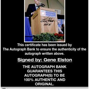 Gene Elston proof of signing certificate