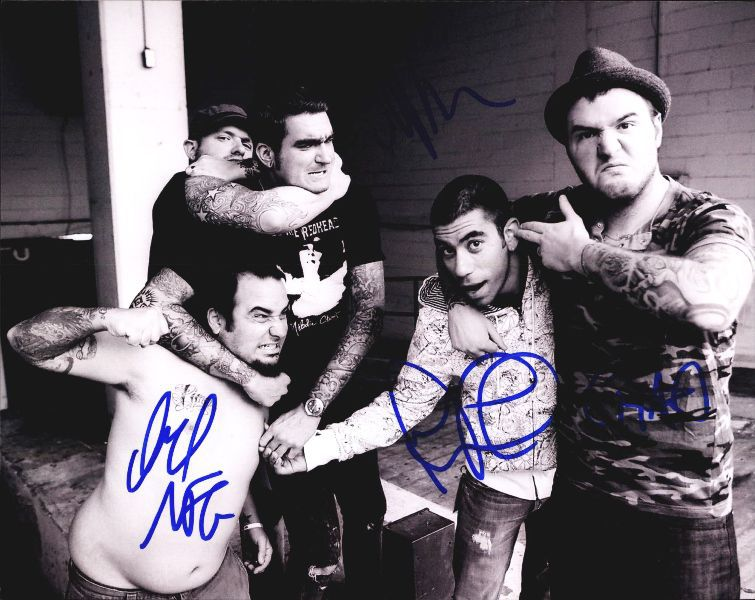 New Found authentic signed 8x10 picture