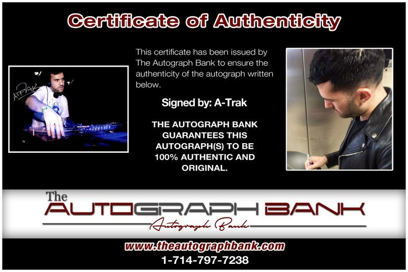 A-Trak proof of signing certificate