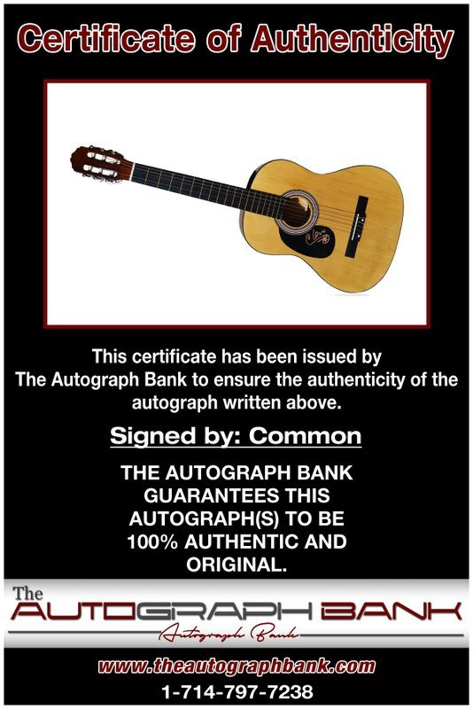 Common proof of signing certificate
