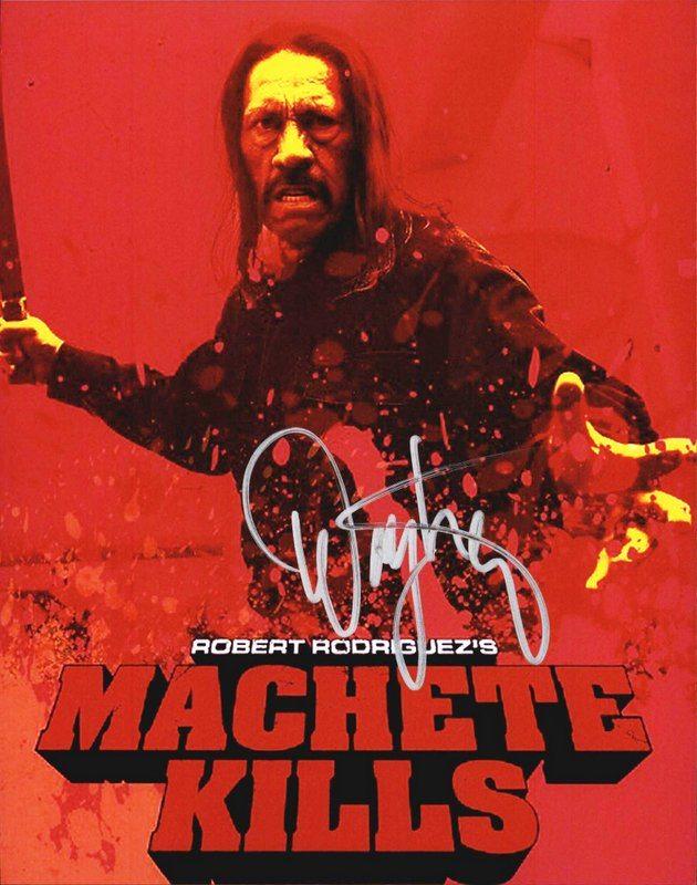 Danny Trejo Signed 8x10 Photo Autograph W/ Coa Machete Television
