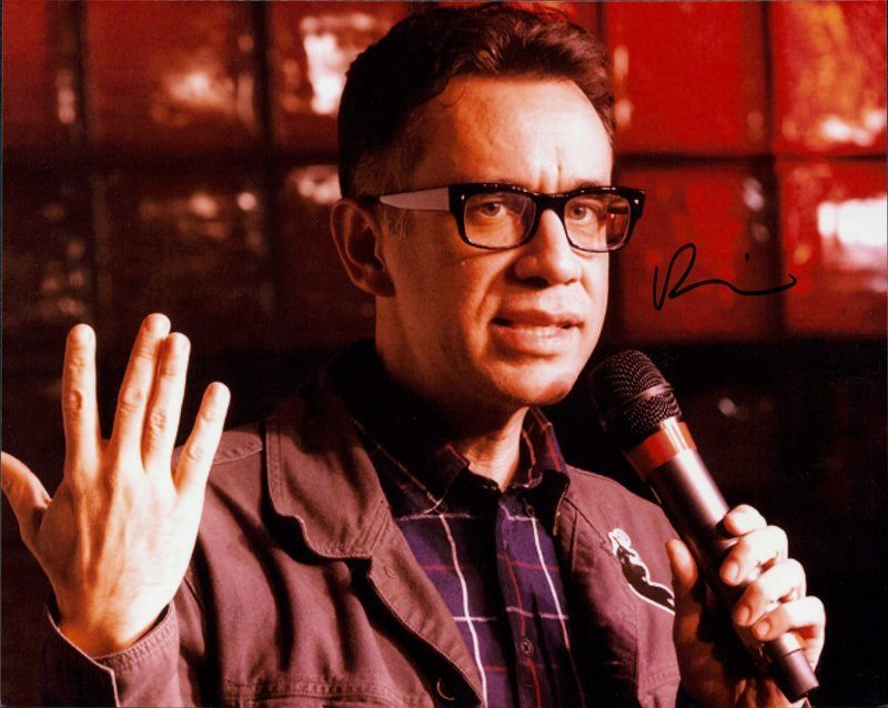 Fred Armisen authentic signed 8x10 picture