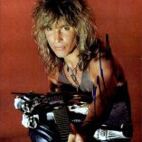 George Lynch autographed photo