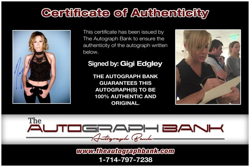 Gigi Edgley proof of signing certificate