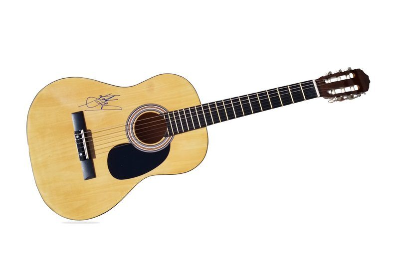 keke palmer authentic signed acoustic guitar w certificate autographed ac1 ebay. Black Bedroom Furniture Sets. Home Design Ideas