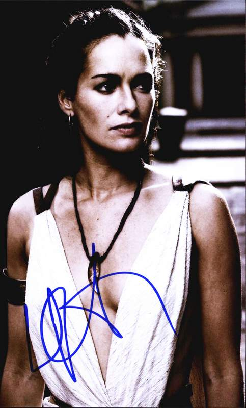 Lena Headey Signed Authentic 8x10 Free Ship The Autograph Bank