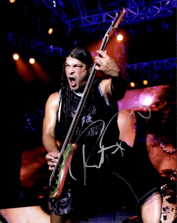 Robert Trujillo authentic signed 8x10 picture