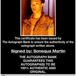 Sonequa Martin-Green proof of signing certificate
