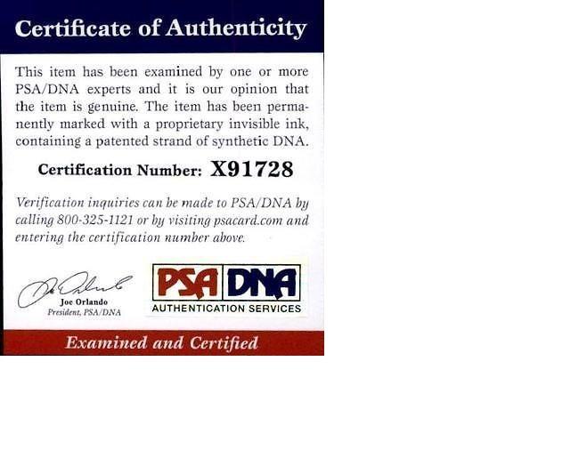 Aaron Sorkin proof of signing certificate