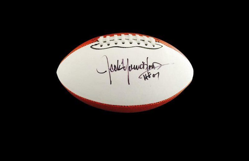 best service 10d6d 13095 Jack Youngblood Los Angeles Rams authentic signed full size NFL football  W/Certificate (A58)