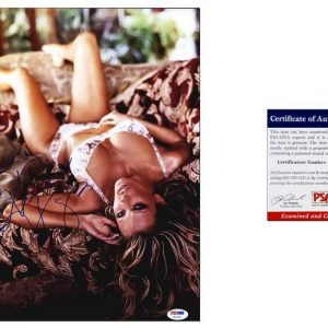 Jenna Jameson certificate of authenticity from the autograph bank