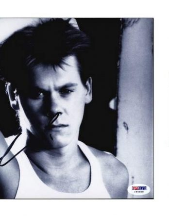 Kevin Bacon certificate of authenticity from the autograph bank
