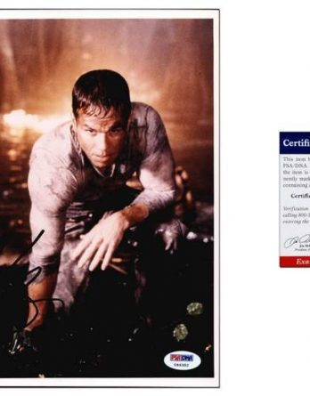 Mark Wahlberg certificate of authenticity from the autograph bank