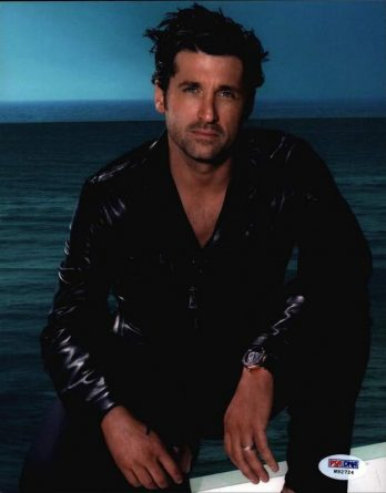 Patrick Dempsey authentic signed 8x10 picture