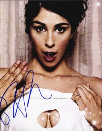 Sarah Silverman authentic signed 8x10 picture