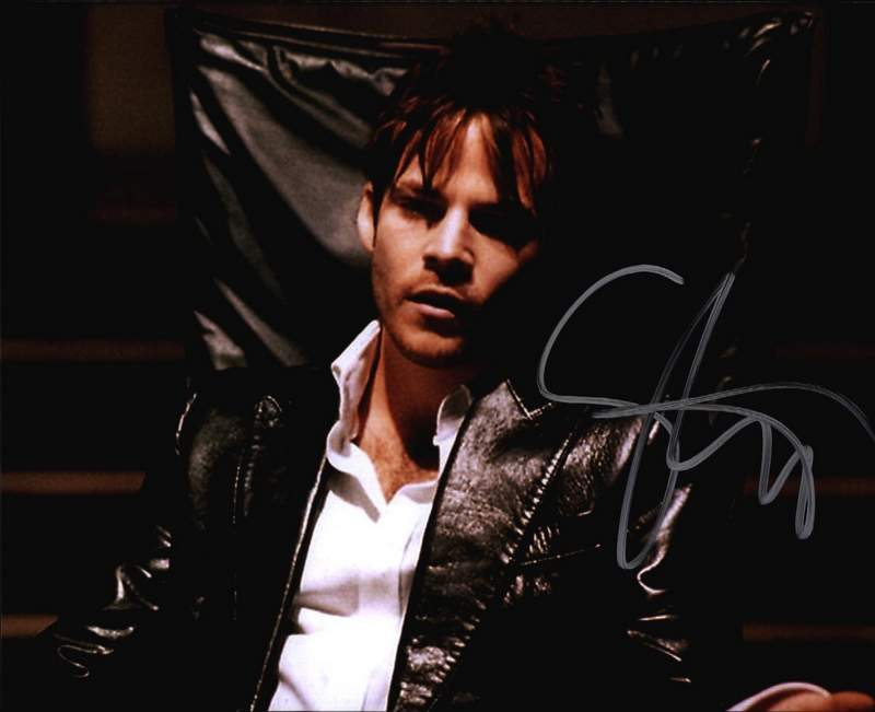 8x10 Signed Stephen Dorff