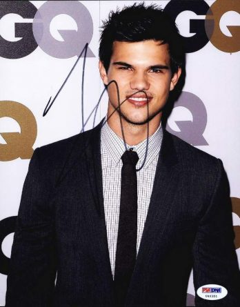 Taylor Lautner authentic signed 8x10 picture
