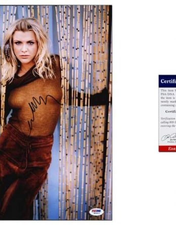 Courtney Love certificate of authenticity from the autograph bank