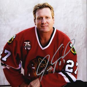Jeremy Roenick authentic signed 8x10 picture