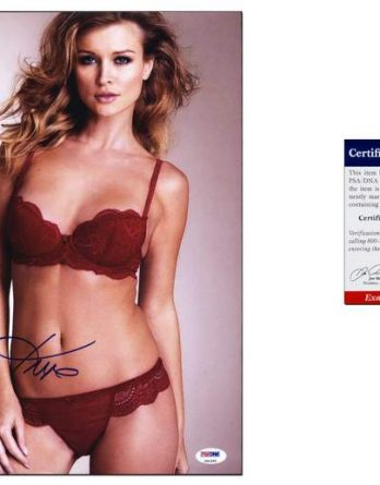 Joanna Krupa certificate of authenticity from the autograph bank