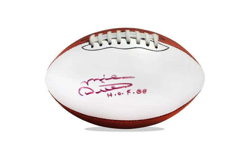 c9c39304dd7 Mike Ditka signed AUTHENTIC Football