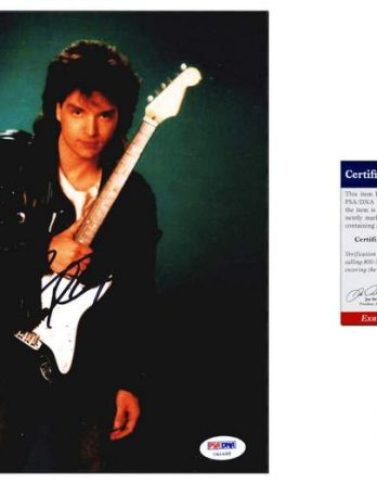 Richard Marx certificate of authenticity from the autograph bank